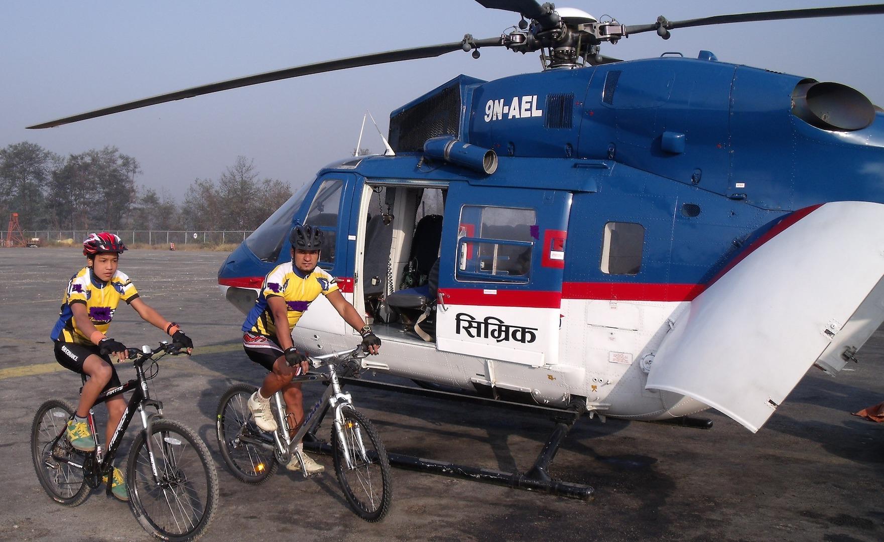 Heli Biking
